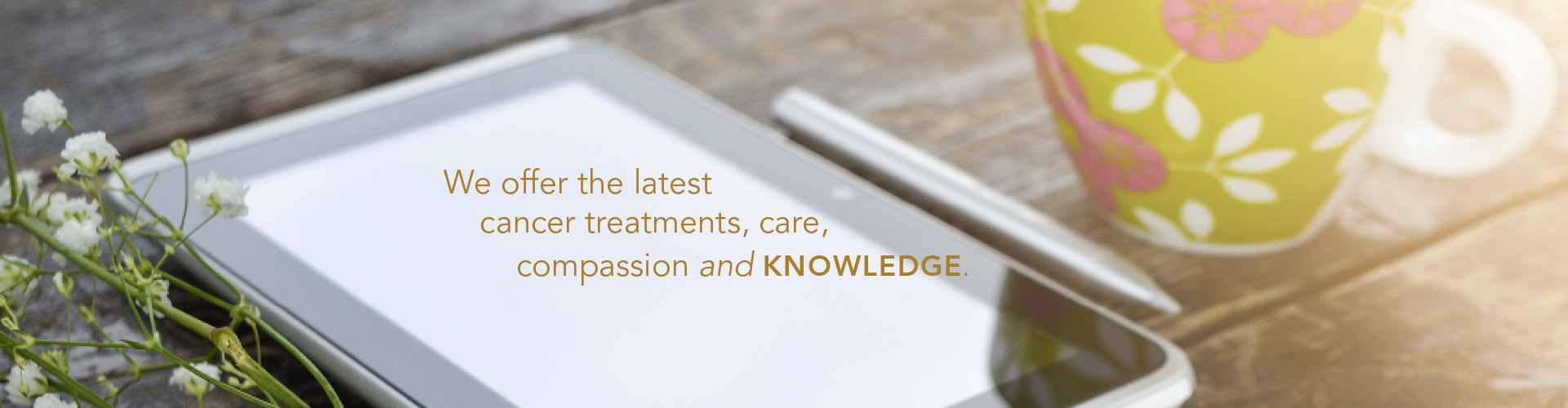 Georgetown Cancer Center Cancer Treatment Resources